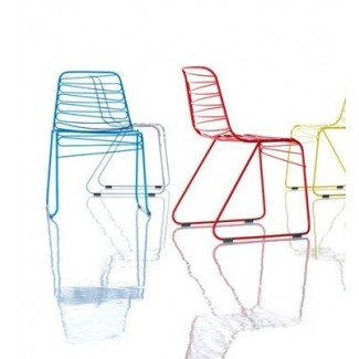 Magis Flux Stacking Chair, Sold In Set of 4