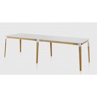 Magis Steelwood Table System and Extension