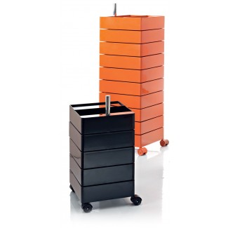 Magis 360 Degree Container 10 Drawer Unit on Wheels