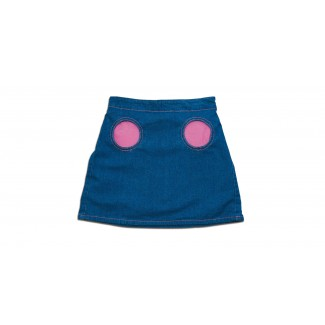 Magis Denim Skirt, Sold In Set of 2