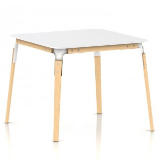 Magis Steelwood Table, Square