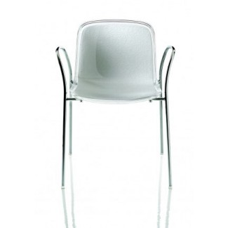 Magis Troy Stacking Chair w/ Arms, Sold In Set of 2