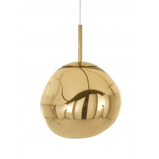 CLEARANCE - Tom Dixon Melt Mini Pendant Light - Gold