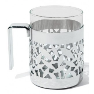 Alessi Cactus Mug With Heat Resistant Glass MSA13