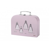 Stelton Penguin Children's Flatware Suitcase