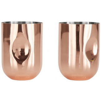 Tom Dixon Plum Moscow Mule Glass (Set of 2)