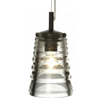 Tom Dixon Pressed Glass Tube Pendant Light