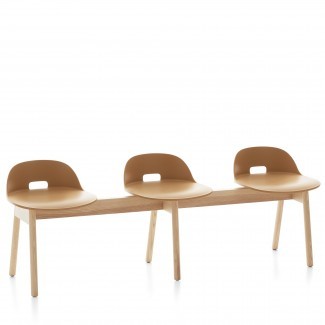 Emeco Alfi Three Seat Bench