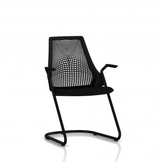 Herman Miller Sayl® Side Chair with Sled Base