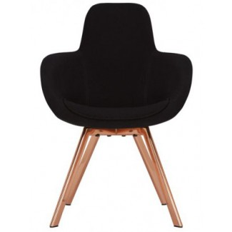 Tom Dixon Scoop High Chair Copper Legs