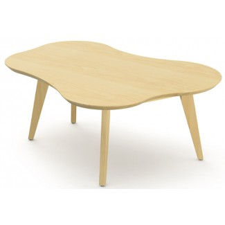 Knoll Jens Risom - Amoeba Shaped Coffee Table