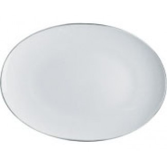Alessi Mami Platinum Oval Serving Plate SG70 22 38