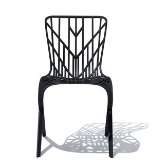 Knoll David Adjaye - Washington Skeleton Side Chair, Outdoor