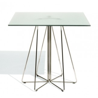Knoll Vignelli Associates - Paperclip Square Cafe Table