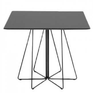 Knoll Vignelli Associates - Paperclip Square Cafe Table, Outdoor