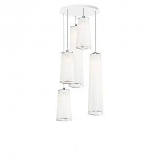 Pablo Solis Mixed Chandelier Pendant Lamp