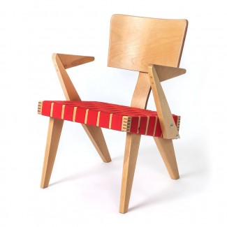 Gus* Modern Spanner Lounge Chair with Arms
