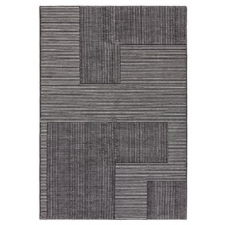 Tom Dixon Stripe Rug Rectangle Black / White
