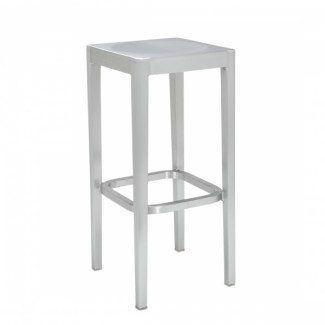 CLEARANCE - Emeco Barstool STOL-30 - Brushed Finish