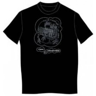 Alessi Black Dream T-shirt TD05 XL