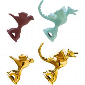 Alessi Tea Rex Whistles-Set of 2