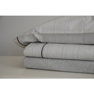 Area Bedding Thin Graphite Pillow Cases