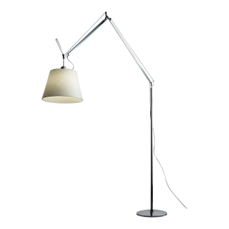 "Artemide Tolomeo Mega Floor LED Lamp, 17"" Shade, TLM2102 (Black Friday)"