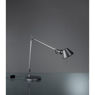 Artemide Tolomeo Midi LED Table Lamp, Anthracite Grey