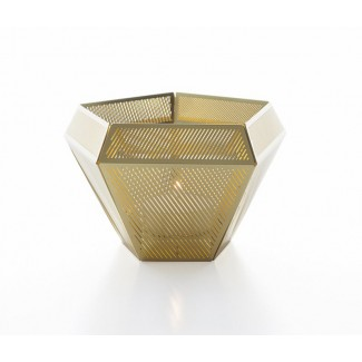 CLEARANCE - Tom Dixon Cell Tea Light Holder, Brass