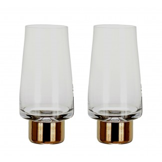Tom Dixon Tank High Ball Glasses (Set of 2)