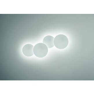 Vibia Puck Wall Art Quadruple Sconce Lamp