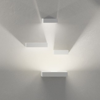 Vibia Set LED Three Reflector Block Wall Sconce Lamp