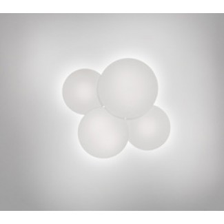 Vibia Puck 5440-03 Four-Sphere LED Ceiling Lamp