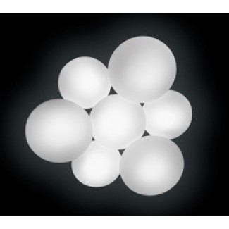 Vibia Puck 5445-03 Seven-Sphere LED Ceiling Lamp