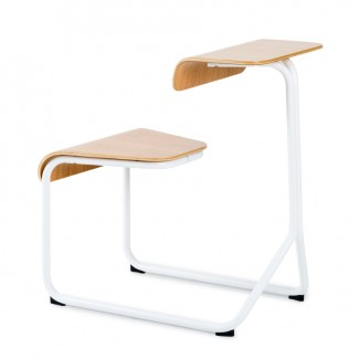 Knoll Toboggan Sled Base Chair Desk