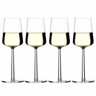 Iittala Essence White Wine Glass Set of 4