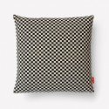 Maharam Checker Pillow, Black/White