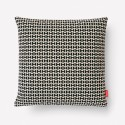 Maharam Double Triangles Pillow, Black/White