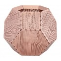 Tom Dixon Etch Tea Light Holder Wood
