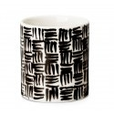 Design House Stockholm Deco Vase with Tiles Pattern (Priced Each, Sold in Sets of 2)