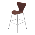 Fritz Hansen Series 7 Bar/Counter Stool (Fully Upholstered)
