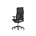 Herman Miller Cosm Chair - Standard High Back in Graphite (STK)