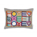 Vitra Embroidered Pillow - Home Sweet Home