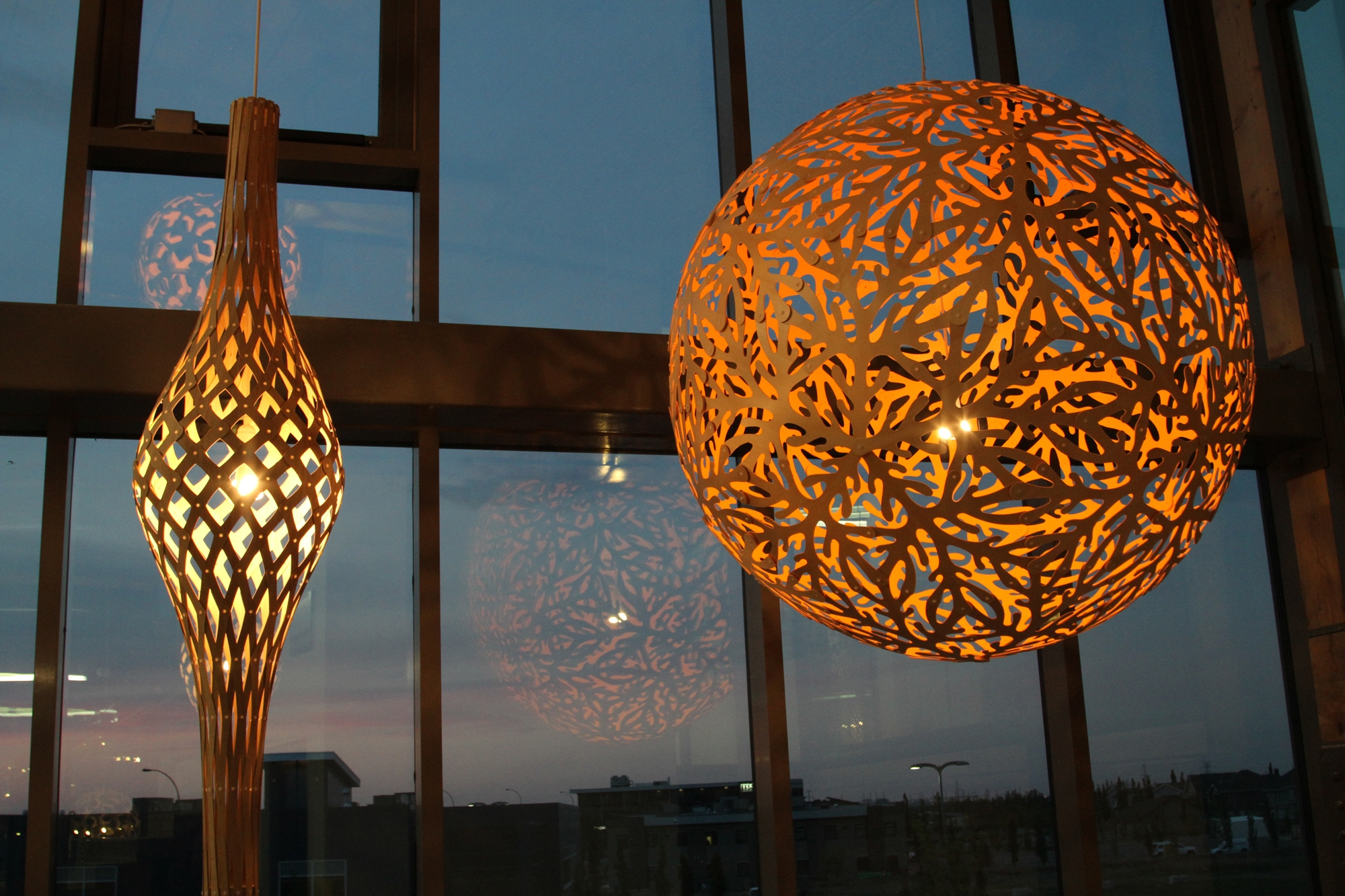 David Trubridge Nikau Pendant Light Gr Shop Canada