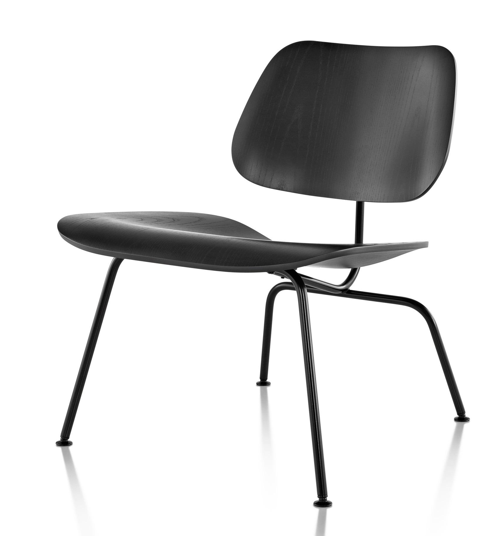 herman miller eames molded plywood lounge chair metal legs gr shop canada. Black Bedroom Furniture Sets. Home Design Ideas