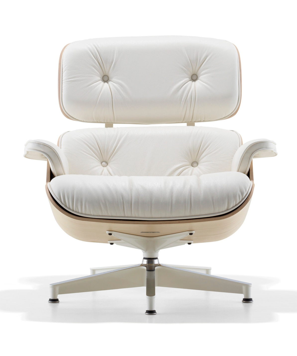 herman miller eames lounge chair white ash gr shop canada. Black Bedroom Furniture Sets. Home Design Ideas