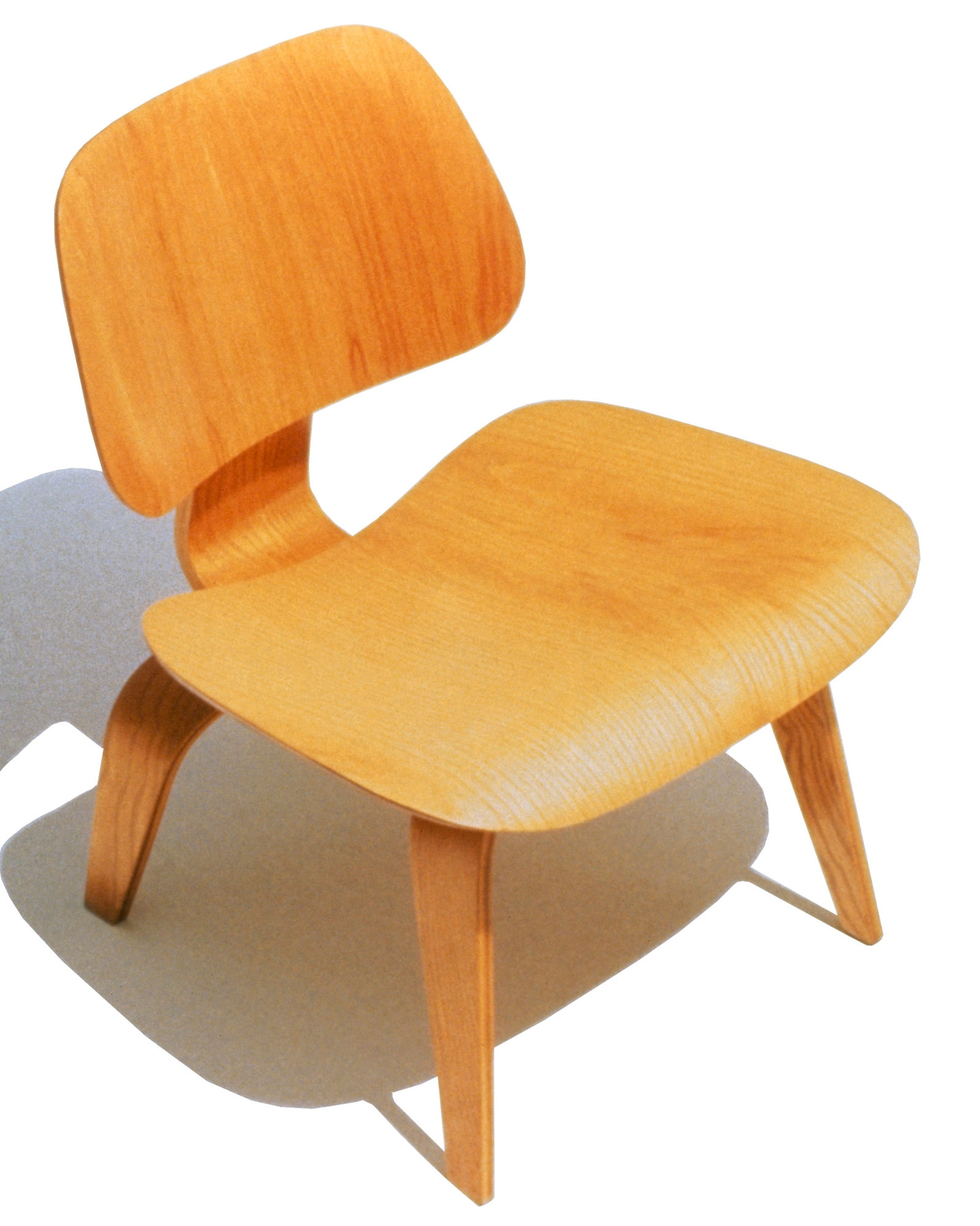 herman miller eames molded plywood lounge chair wood legs gr