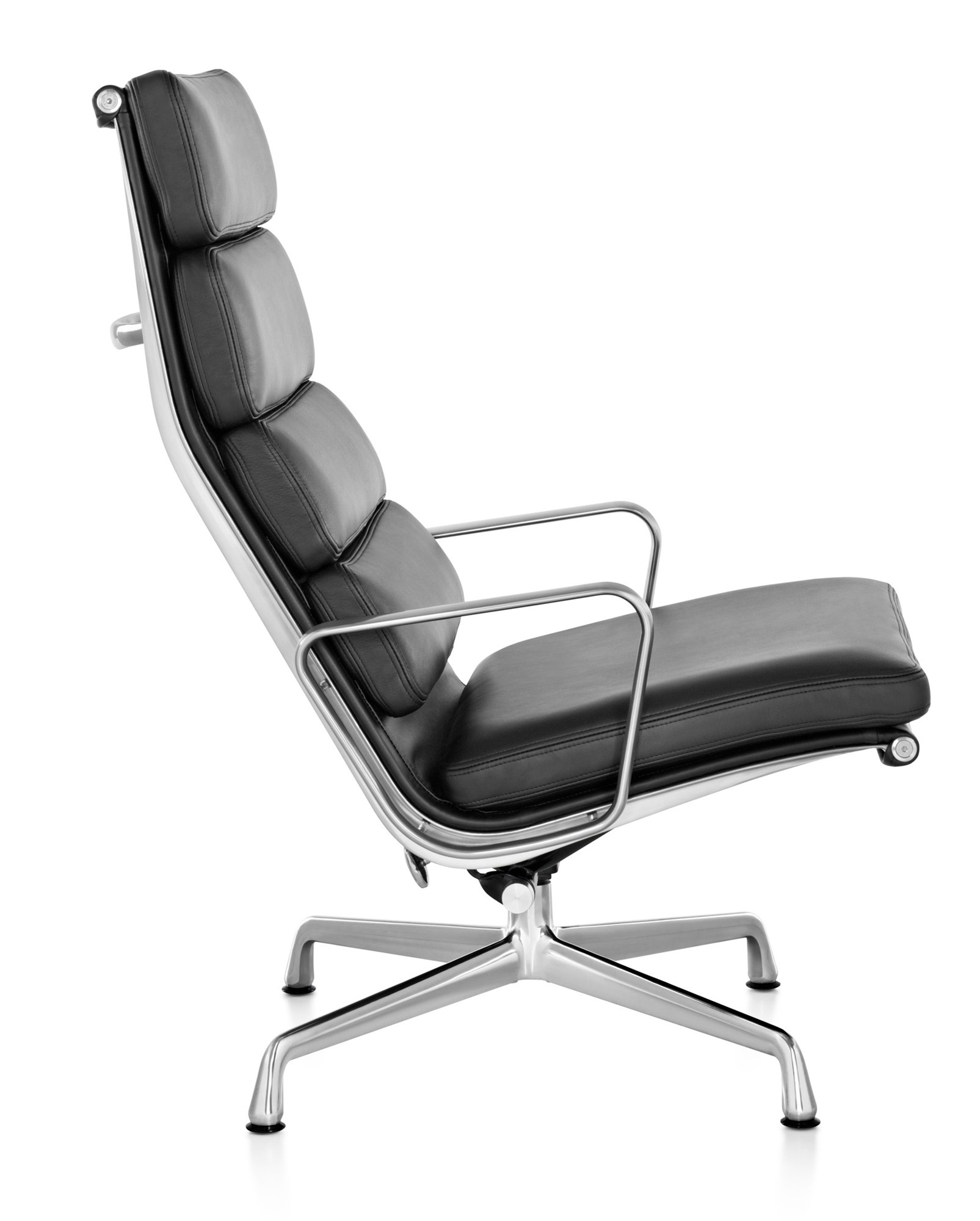 Herman miller eames soft pad chair lounge chair gr for Eames herman miller lounge chair