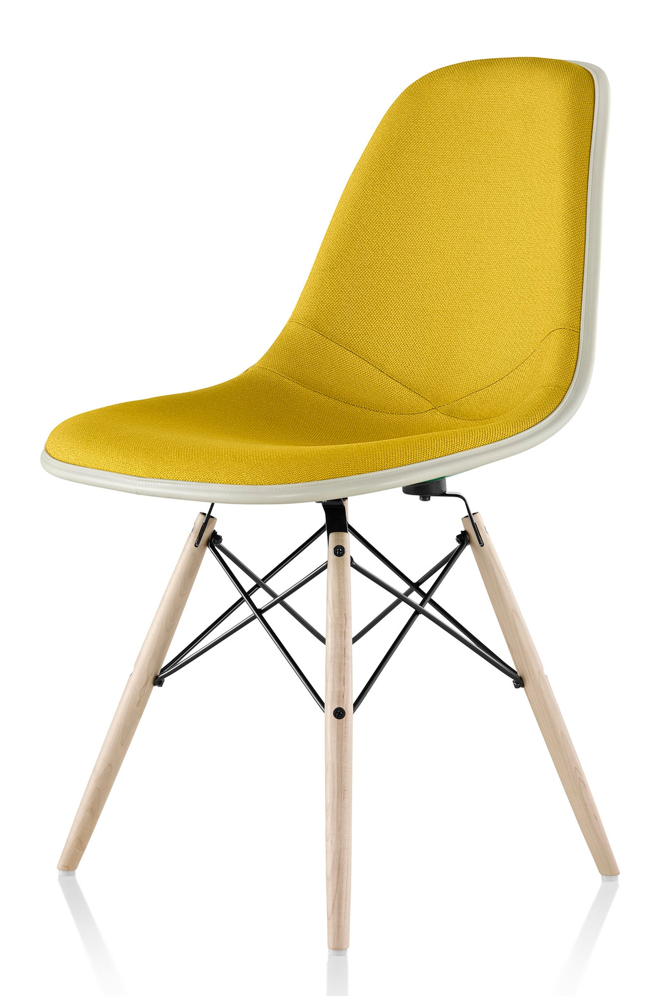 herman miller eames molded fiberglass side chair. Black Bedroom Furniture Sets. Home Design Ideas