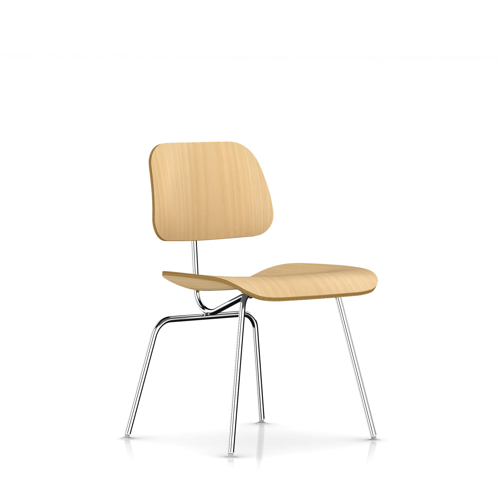 Herman Miller Eames Molded Plywood Dining Chair Metal